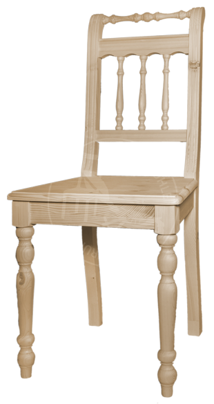 Stühle aus Teak und Weichholz