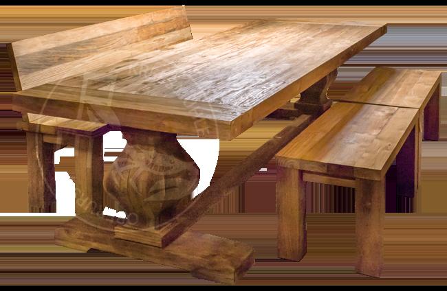 Krebsmühle Manufaktur Tische aus massivem Teakholz