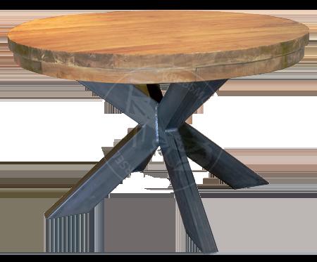 Tisch Mit Metallbeinen tische aus massivholz, echtholz - spezialität teakholz